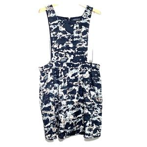 NWT FOREVER 21 PLUS • Camo Lightweight Apron Dress